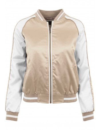 Street Jacket GoldNWhite
