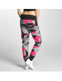 Camo Sweatpants Grey/Black/Pink