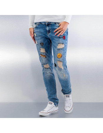 Urban Fashion Jeans Blue