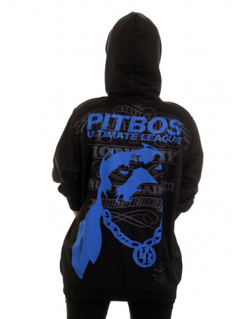 League ZipHoodie BlackNBlue by Pitbos