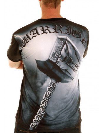Nordic Nation Thor's Hammer Tee BlueGrey