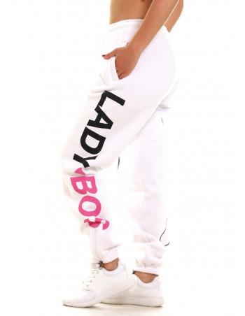 Pitbos Lady BOS5 Sweatpants White