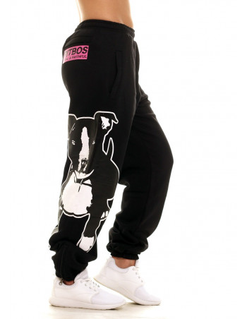 Pitbos Lady BOS5 Sweatpants Black