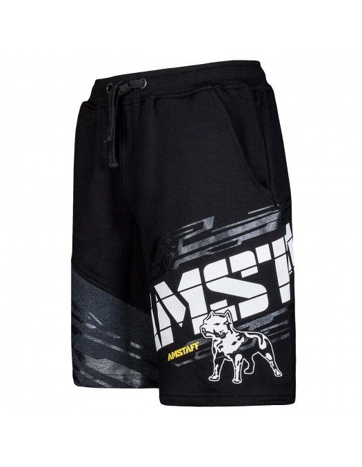 Amstaff Wave Shorts BlackNWhite