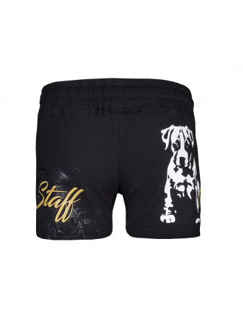 Black Puppy Shorts by Babystaff