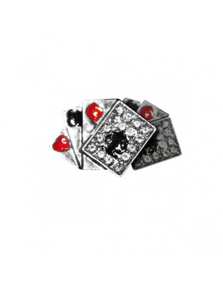 Earring / Ørestikker, Aces