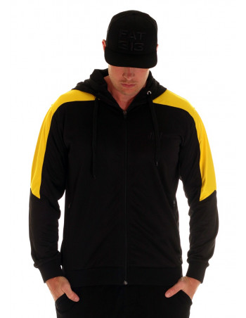 BSAT Panther Track Jacket BlackNYellow