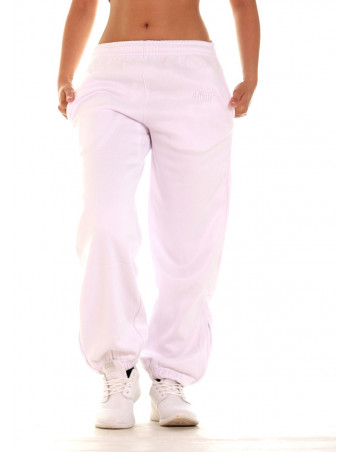 BSAT Bronx Sweatpants All White