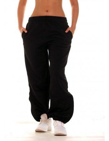 Bronx Sweatpants All Black by BSAT