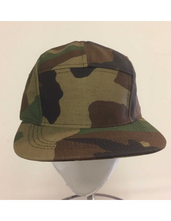 Solid Bike Cap Camo Green