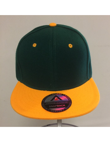 Access Apparel Snapback GreenNYellowGold