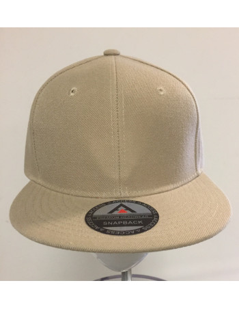 Access Apparel Snapback Cap Khaki