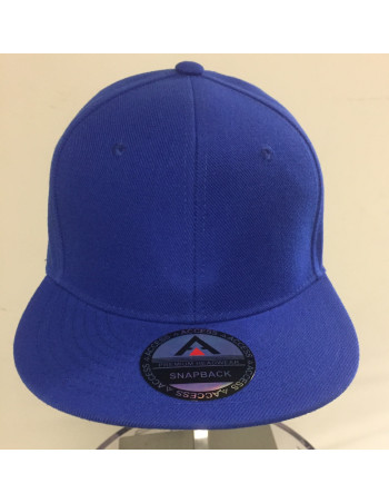 Access Apparel Snapback Cap Royal