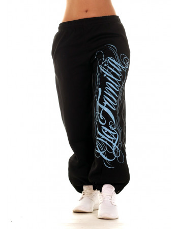 LA FAMILIA Sweatpants BabyBlue by BSAT