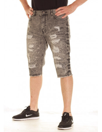 Urban Rip & Repair Shorts Black