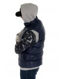 Solid Bubble Vest Navy