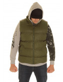 Solid Bubble Vest Olive