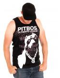 Pitbos Vol.2 Ultimate League Tanktop BlackNWhite