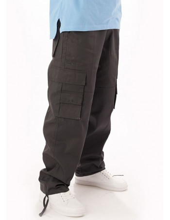 Access Premium Cargo Pants Dark Grey