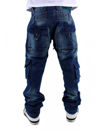 Brooklyn Mint Combat Cargo Denim Jeans