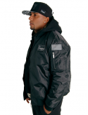 Cocaine Life Basic Bomber Jacket BLack