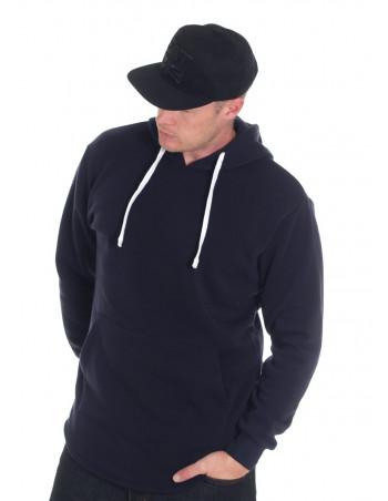 Access Side Zipper Hoodie Navy