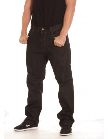 Access Loose Fit Jeans /Raw Denim Black