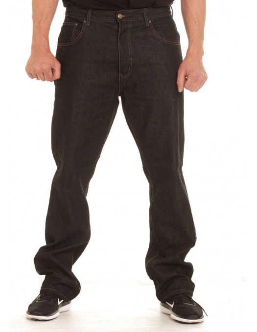 Loose Fitting Plain Jeans