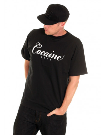 Cocaine Life Base Black Tee