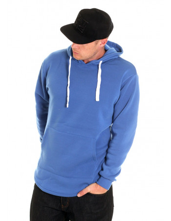Access Side Zipper Hoodie Royal