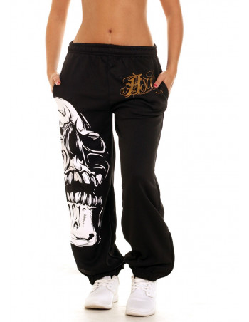 Big Skull Sweatpants by BSAT