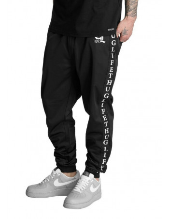 Thug Life Sweatpants Life Two Black