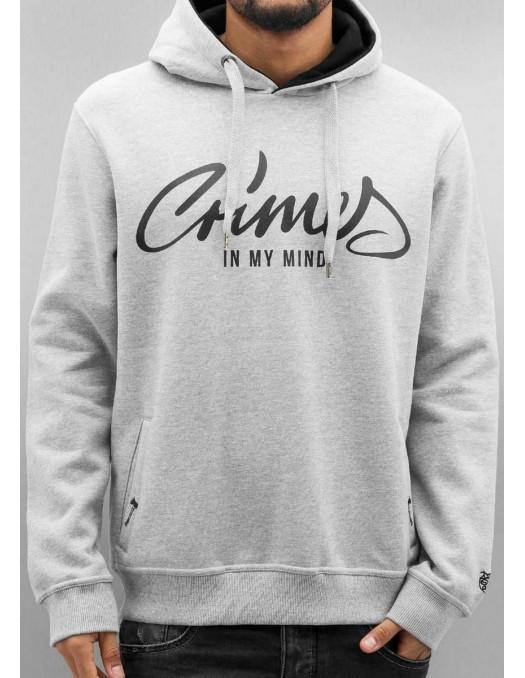 DNGRS Hoodie Crimes Grey