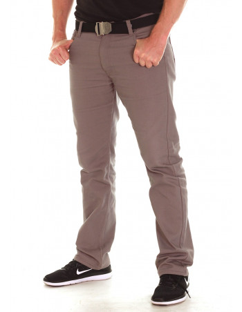 Access Straight Fit Pants Light Grey