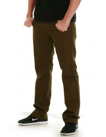 Access Straight Fit Pants Olive
