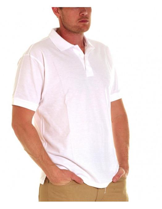 Access Plain Polo White