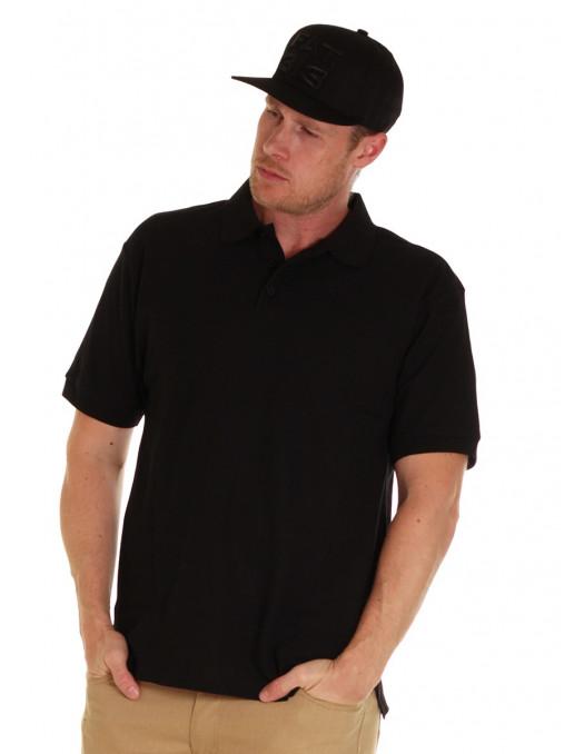 Access Plain Polo Black