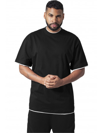 Urban 2-tone t-shirt black / white