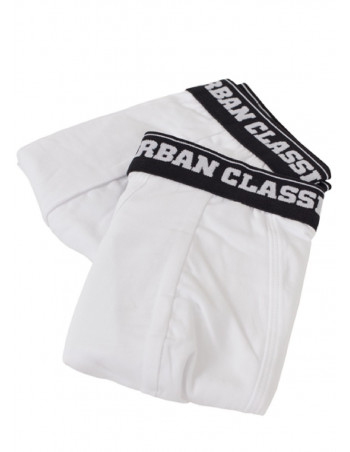 Men Boxer Shorts Double Pack White
