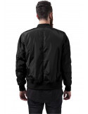 2-Tone Bomber Jacket Black