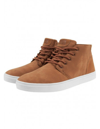 Urban Classics Hibi Mid Shoe Toffee/White