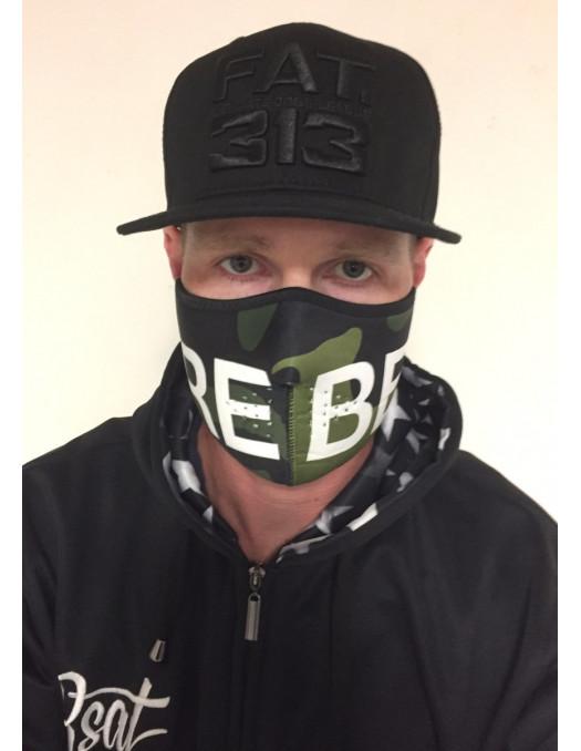 RudeCru Rebel Half Mask Camo