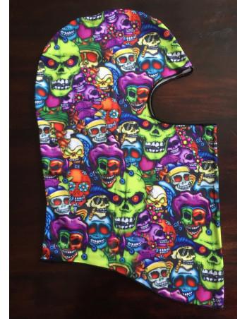 Street Hood Mask Multi Skulls