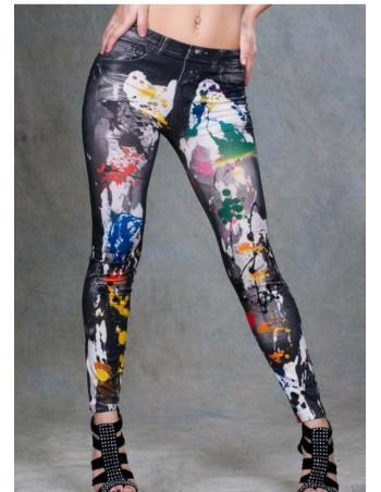 Grafitti Jeans Leggings