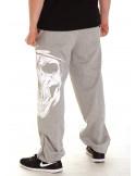 Cali Skull Sweatpants Grey by BSAT