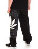 BSAT Silver Weed SweatPants Black//Silver/Grey