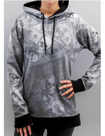 Deadly Money Hoodie Grey by DNGRS