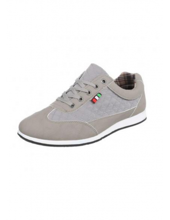 Light Italian Grey Sneaker by N.Y.