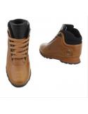 N.Y. Boots CamelBrown Hi