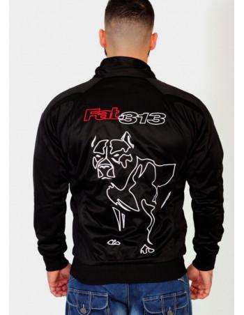 FAT313 Emperor Track jacket RedNWhite
